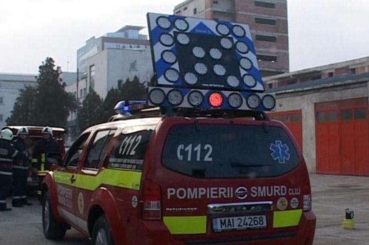 ISU Cluj are cel mai modern sistem de avertizare in caz de accidente din Romania- VEZI VIDEO