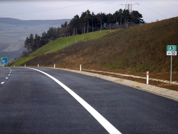 "La ""plimbare"" pe autostrada Transilvania"