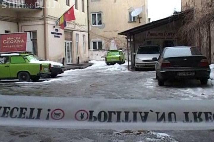 Spargere la sediul PSD din Cluj-Napoca. Prejudiciul este de 1000 de lei  - FOTO si VIDEO