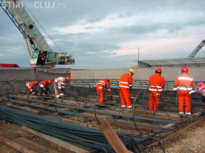 3.000 de angajati ai firmelor subcontractoare de la autostrada Transilvania ar urma sa fie disponibilizati