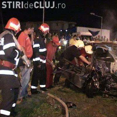 Autorul accidentului de pe Calea Floresti, din Cluj - Napoca, soldat cu un mort si 8 masini distruse a trecut pe rosu - VIDEO