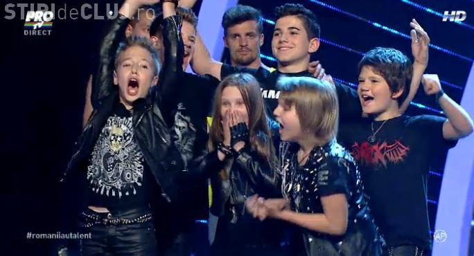 Trupa The Beat va concura în FINALA de la Românii au talent - FOTO