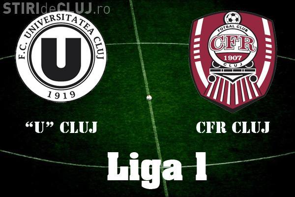 Care echipă are mai mulți suporteri la meciuri U Cluj și CFR Cluj? TOP audiențe