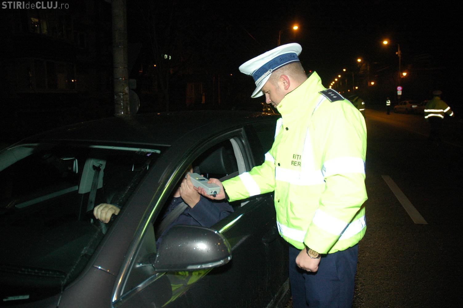 Razie în toiul nopții, în centrul Clujului. Scandalagii și șoferii au fost în vizorul polițiștilor