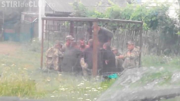 Cum sunt pedepsiţi militarii din Ucraina prinşi băuți - VIDEO