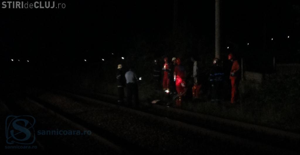 Bărbat lovit mortal de tren, în haltă la Sânnicoara FOTO