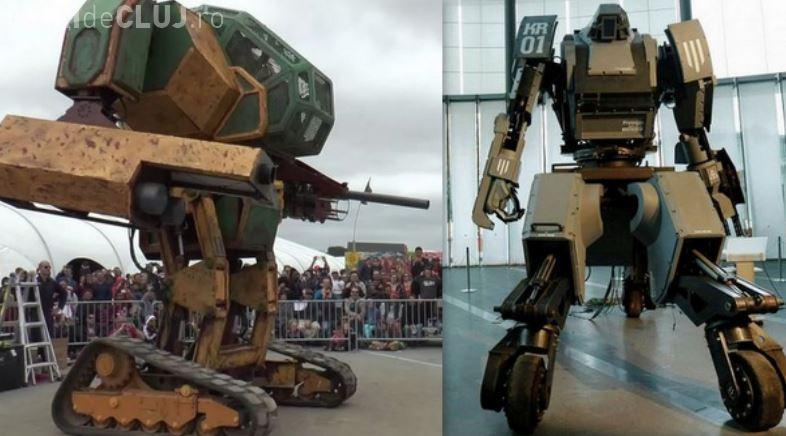 """Japonia și SUA se bat cu roboți URIAȘI! Cum arată """"luptătorii"""" VIDEO"""