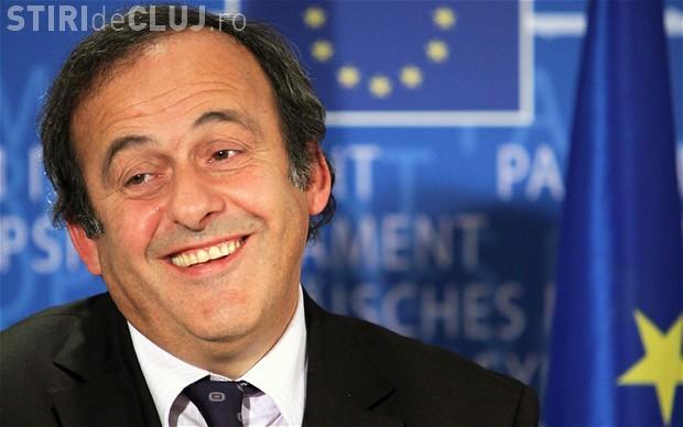 Michel Platini candidează pentru șefia FIFA