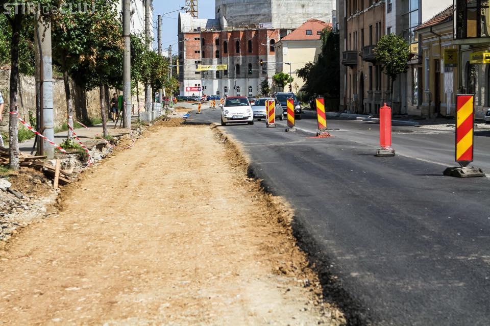 Când se termină lucrările pe strada Avram Iancu - FOTO
