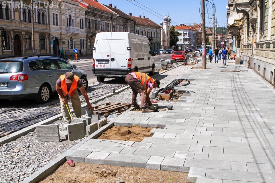 Veste MARE pentru strada Horea! S-a decis câte zone verzi vor fi la FINAL - FOTO