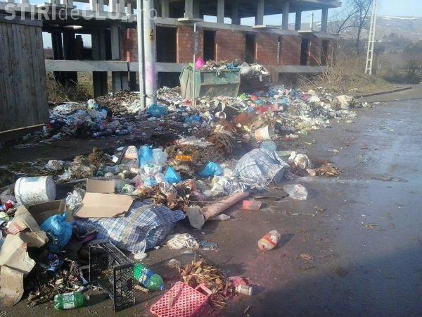 Firma care adună gunoaiele din Florești și Gilău EXPLICĂ de ce nu ridică tomberoanele la timp