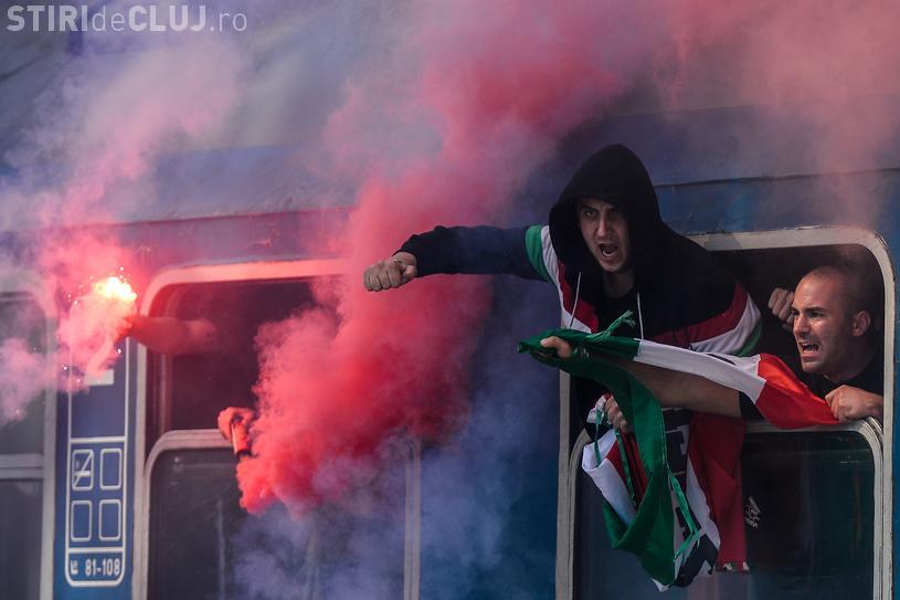 Echipele din prima ligă maghiară au primit amenzi de 10.000 de euro pentru că fanii lor au înjurat România