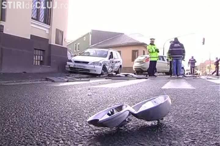 Accident pe strada Paris! Un pieton a fost lovit foarte grav