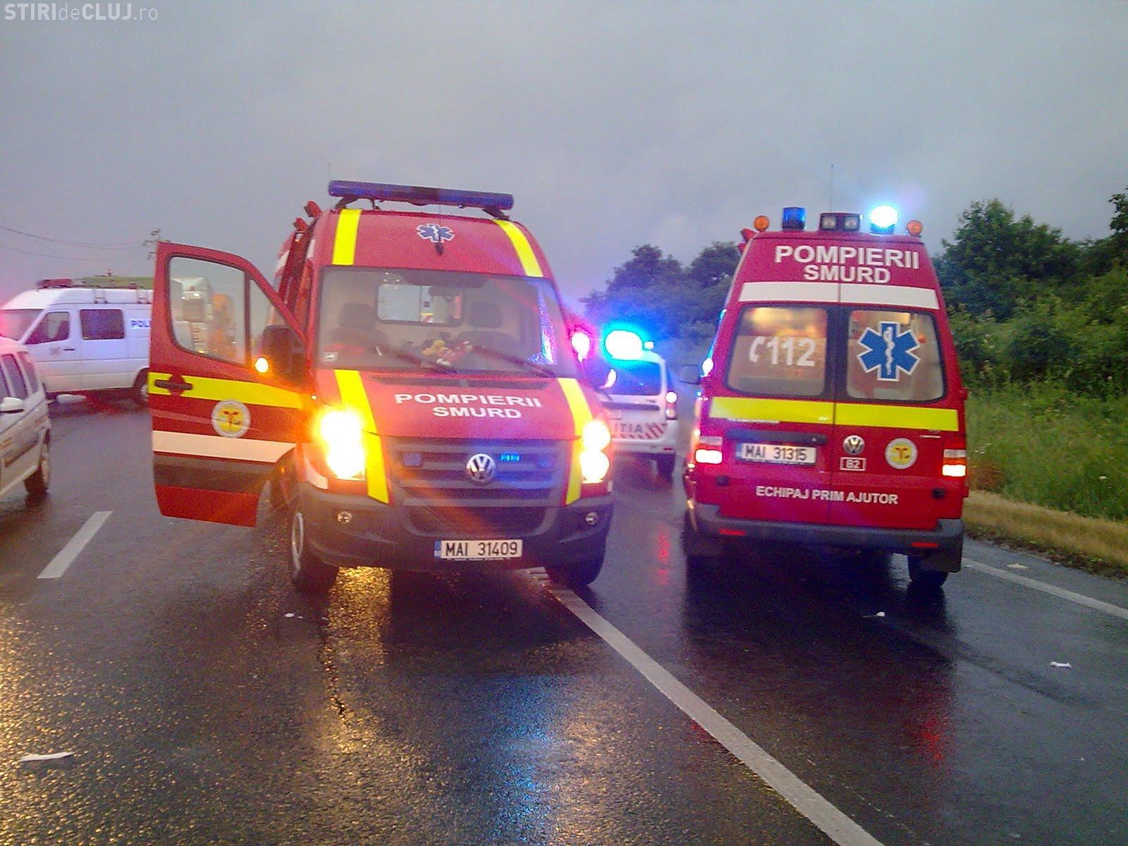 Accident în Florești, în zona Oncos! O femeie a fost lovită pe trecerea de pietoni