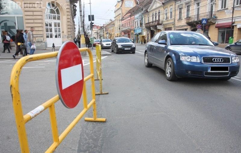 Cluj-Napoca: Restricţii MAJORE de circulaţie pentru 3 - 7 septembrie 2015