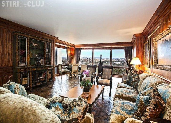 Imagini cu apartamentul lui Cristiano Ronaldo din turnul lui Donald Trump