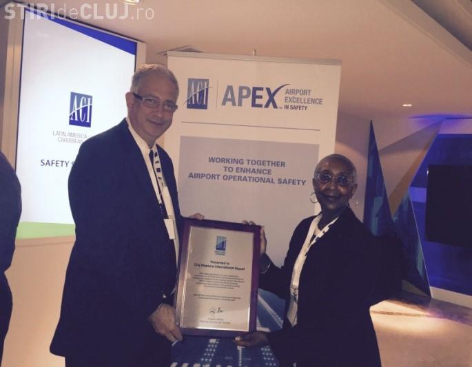 Aeroportul Cluj a fost premiat de Airports Council International (ACI World)