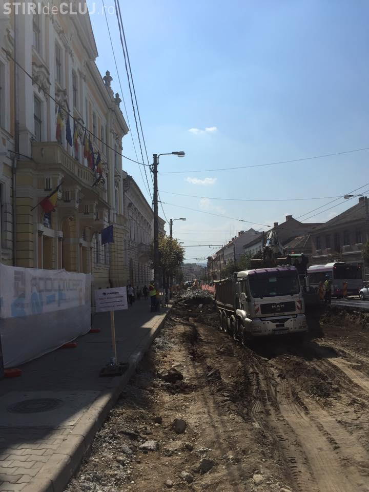Boc: Începe asfaltarea pe strada Motilor - FOTO