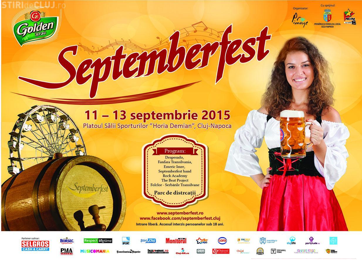 Festivalul de bere Septemberfest, începe săptămâna viitoare, la Cluj