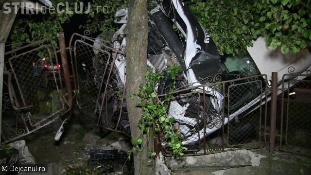 Accident cu două victime pe un drum din Cluj. Șoferul unui TIR a adormit la volan după un kilometru de condus VIDEO