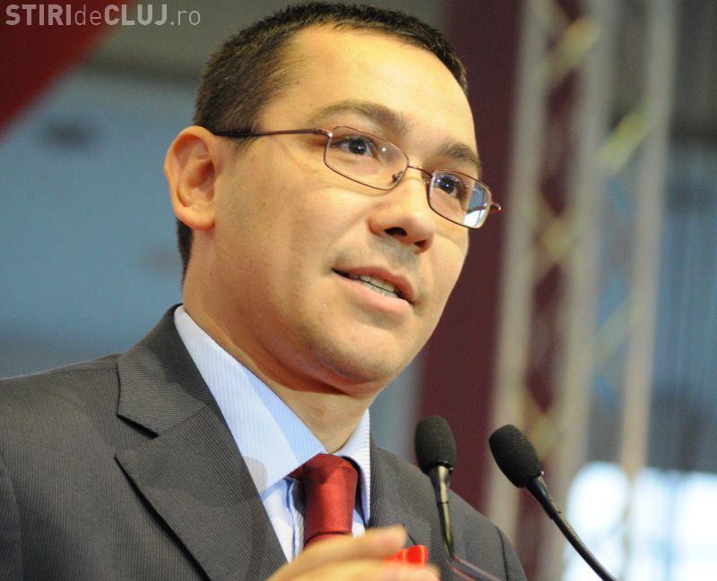 Mesajul premierului, înainte de votul moțiunii pentru a da jos Guvernul Ponta