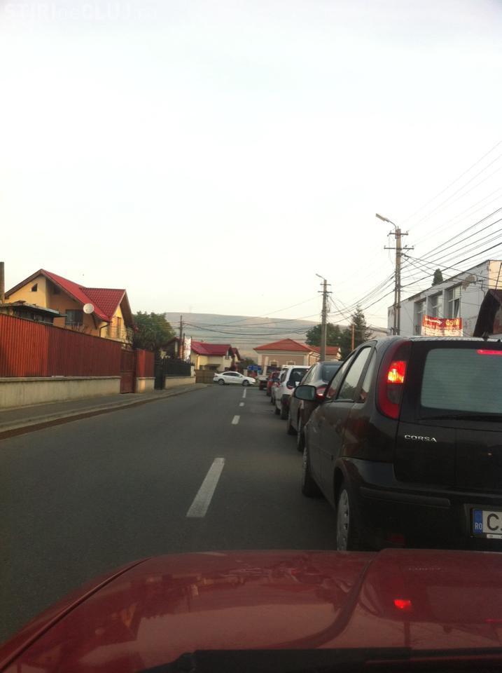 Trafic în Floresti - A început măcelul de dimineață - FOTO