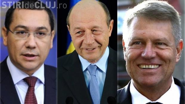 Iohannis s-a prăbușit în sondaje. Cum stau în topul încrederii Ponta şi Băsescu