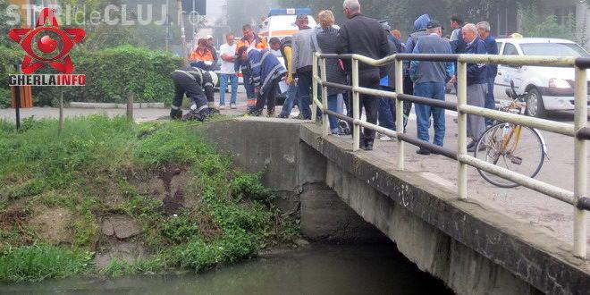 Bărbat găsit inecat în Canalul Morii, din Gherla