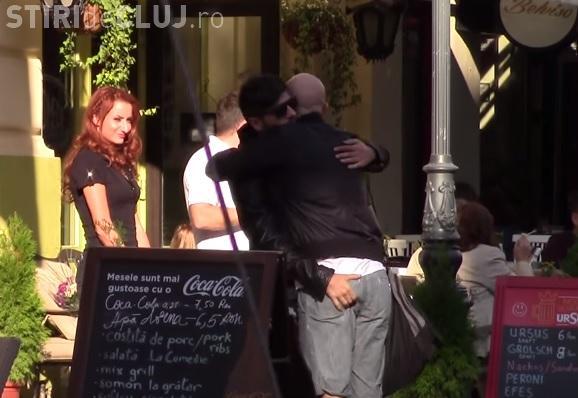 Mircea Bravo l-a prins de fund pe Mihai Bendeac, în București. Ce s-a întâmplat - VIDEO