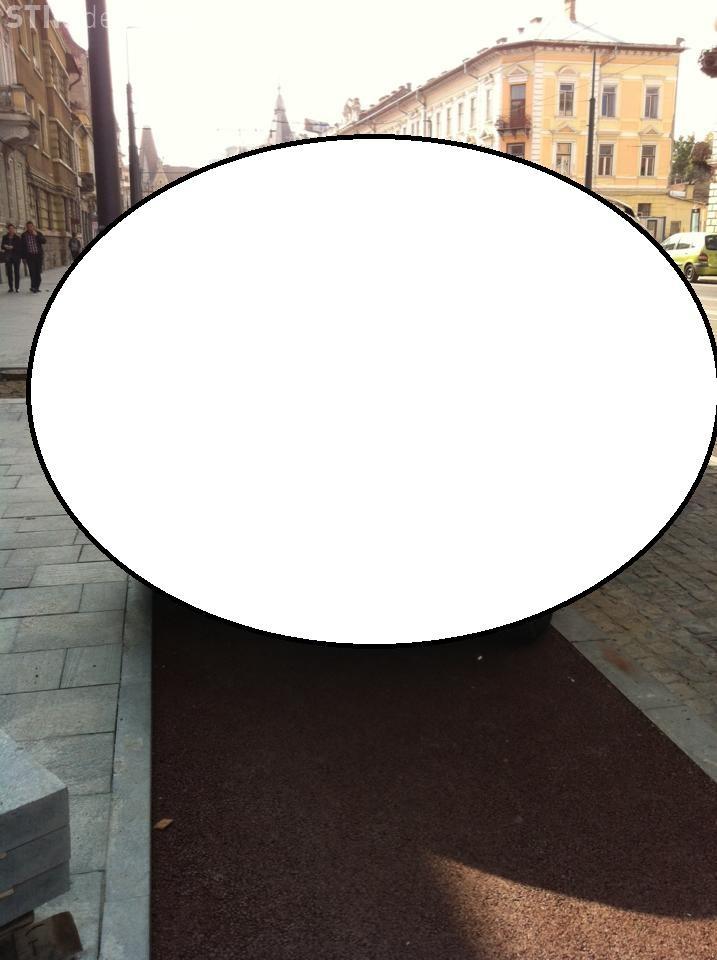 Pista de biciclete de pe Horea e DEGEABA? Cum își lasă șoferii mașinile FOTO