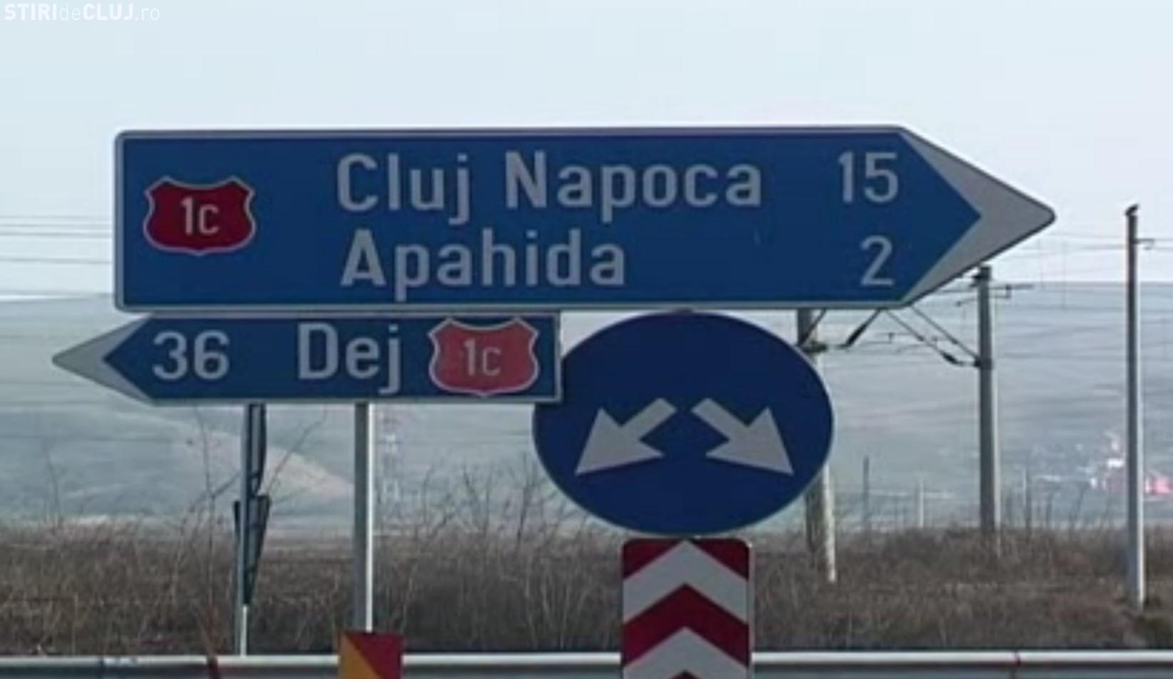 Centura Apahida va fi demolată pentru că s-a GREȘIT. Someșul trece prin drum