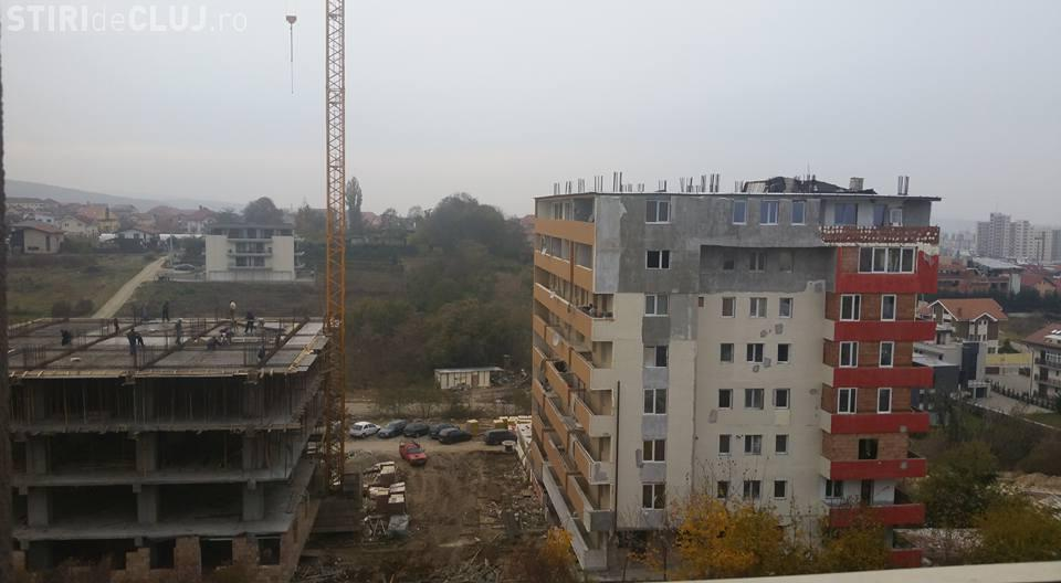 Începe REVOLTA împotriva construcțiilor fără acte? Pe Facebook a fost prezentat un caz din Cluj,  cartierul Zorilor