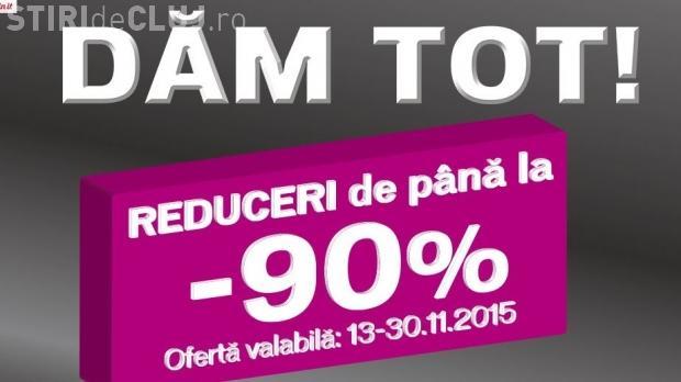 DOMO vinde tot cu 90% reducere. Angajații se tem că magazinele se închid din ianuarie 2016