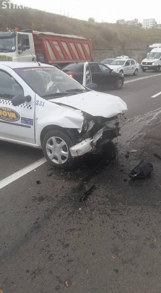 Șoferul care a lovit un taxi pe Varianta Zorilor - Mănăștur a fost REȚINUT