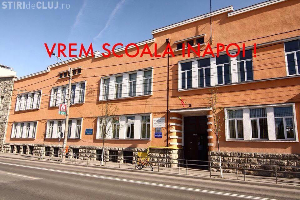 """Scrisoarea de protest a elevilor de la Liceul  """"Mihai Eminescu"""""""
