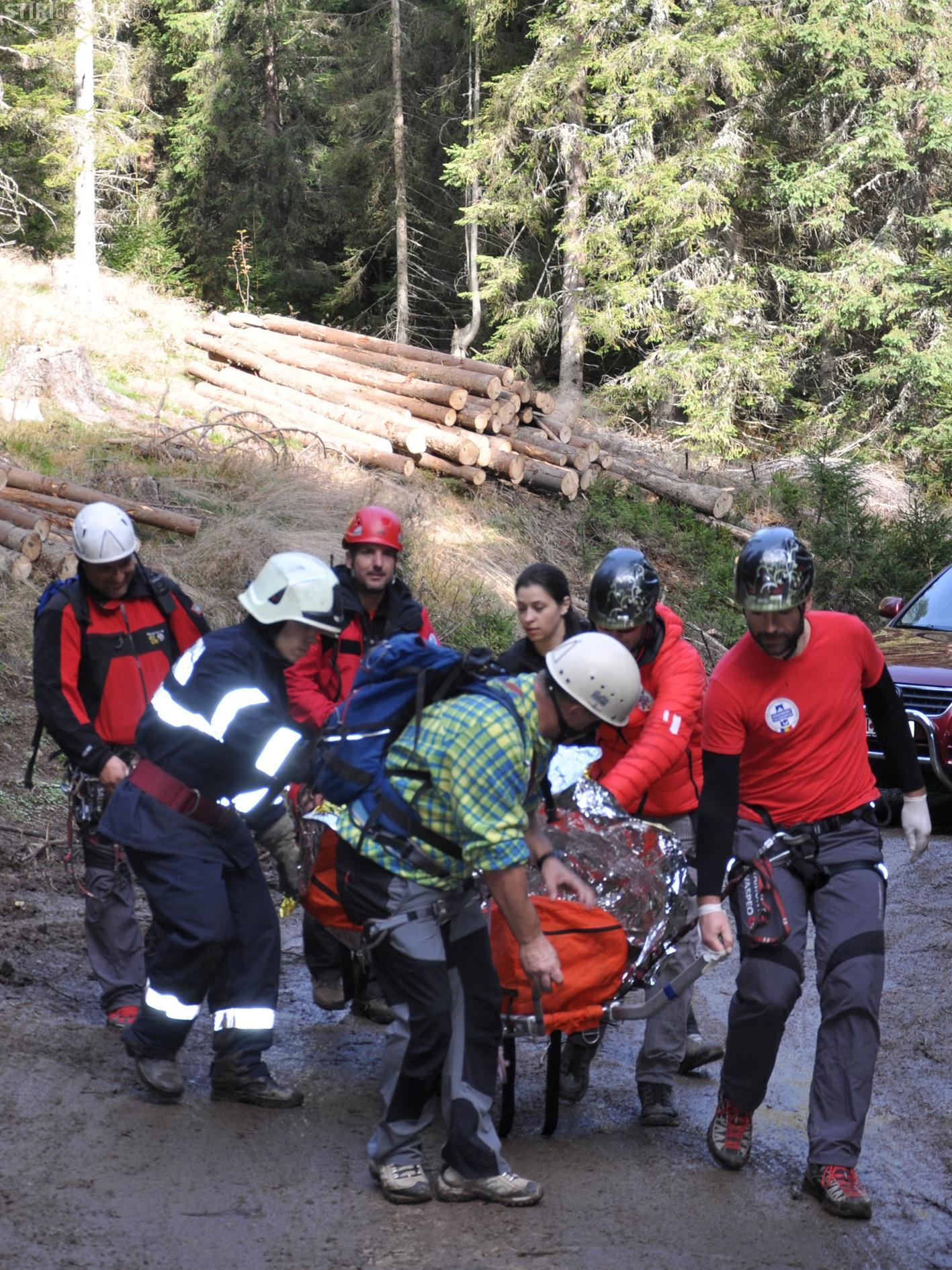 Salvamont-Salvaspeo Cluj: Exercițiu de salvare-căutare în zona Muntele Băișorii