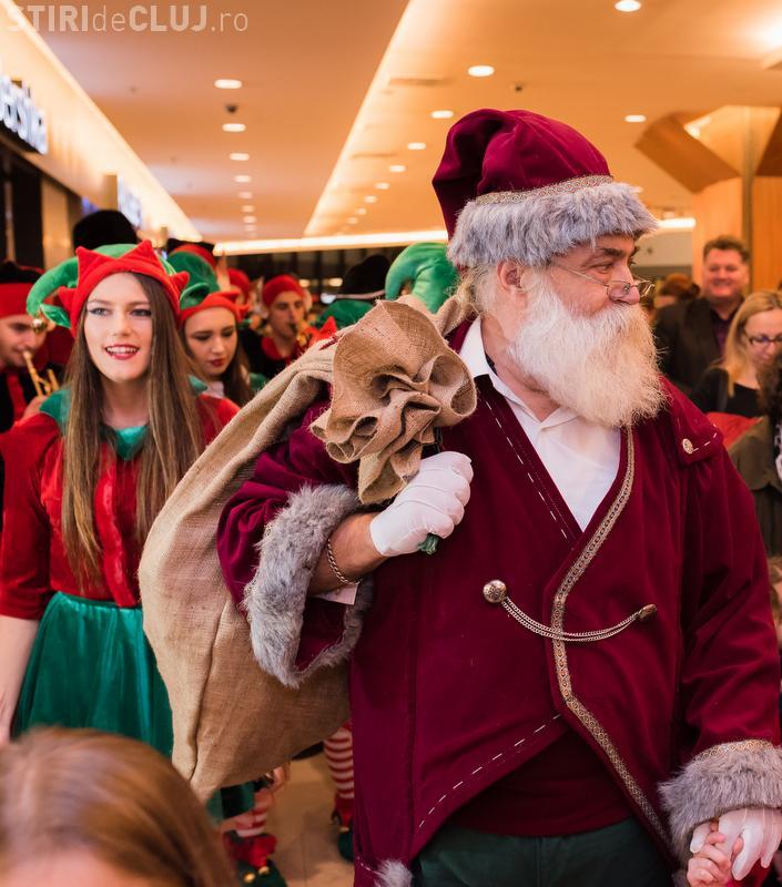 Când are loc Parada lui Moș Crăciun, din Iulius Mall Cluj