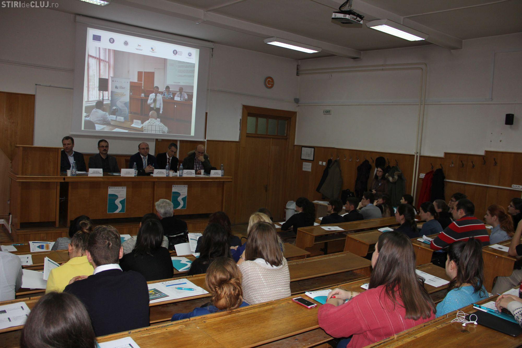 Masterate îmbunătățite la Facultatea de Drept din cadrul UBB Cluj, din fonduri europene - FOTO