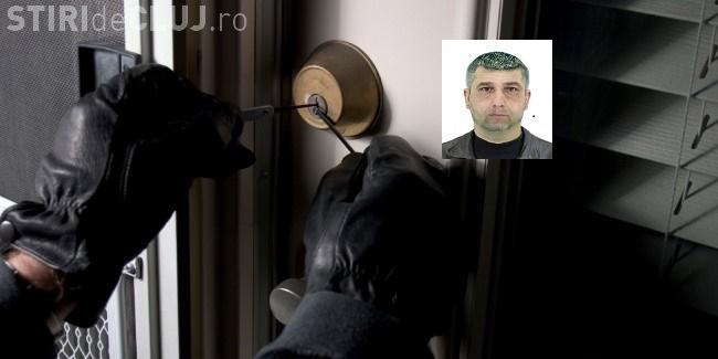 Portret ROBOT al spărgătorului de locuințe din Florești
