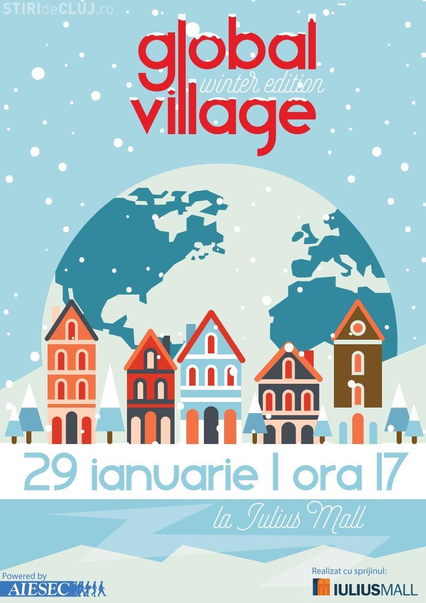 Global Village la Iulus Mall Cluj! Clujenii sunt invitați într-o incursiune multiculturală în 16 țări (P)