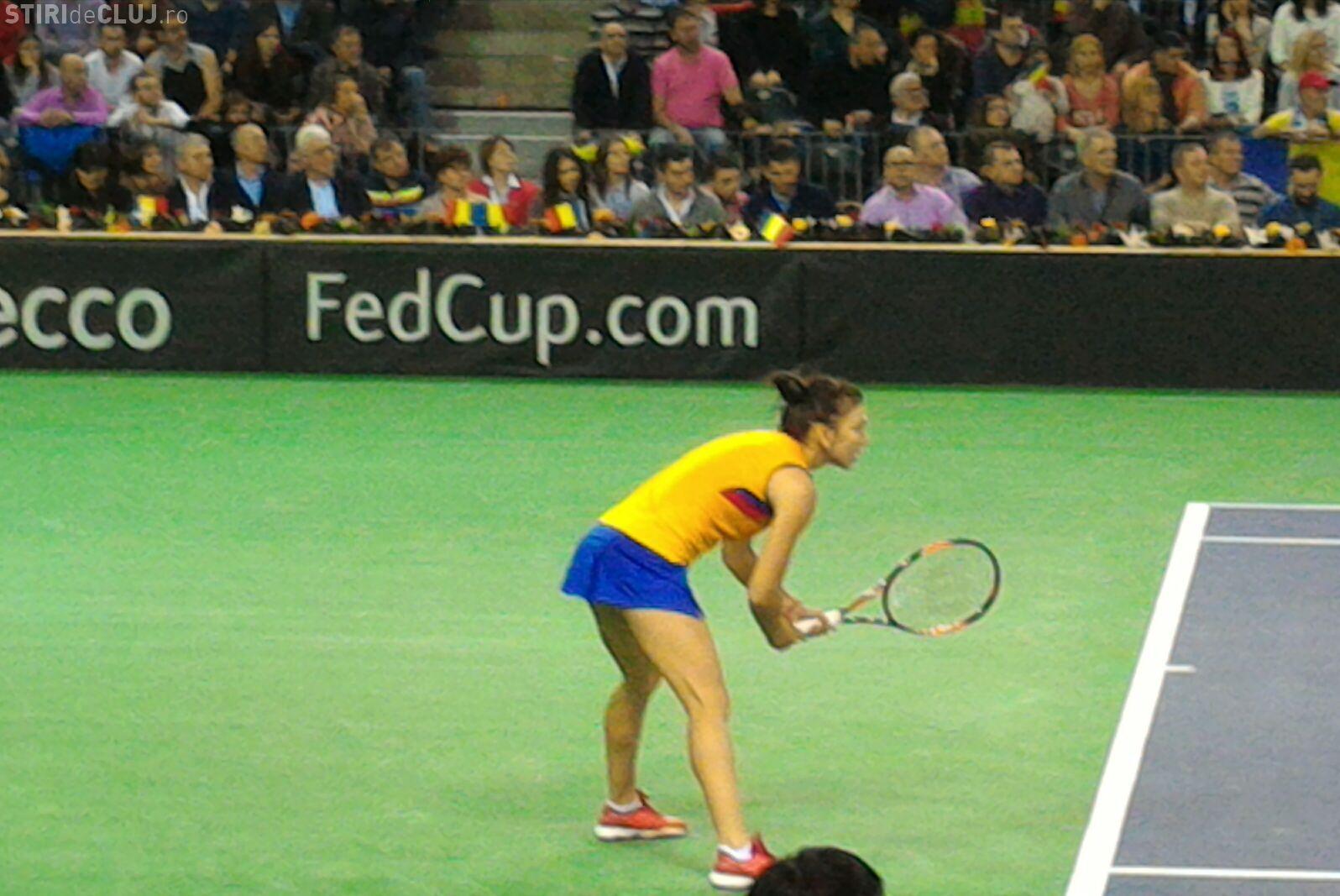 Simona Halep a pierdut la Fed Cup meciul cu Karolina Pliskova