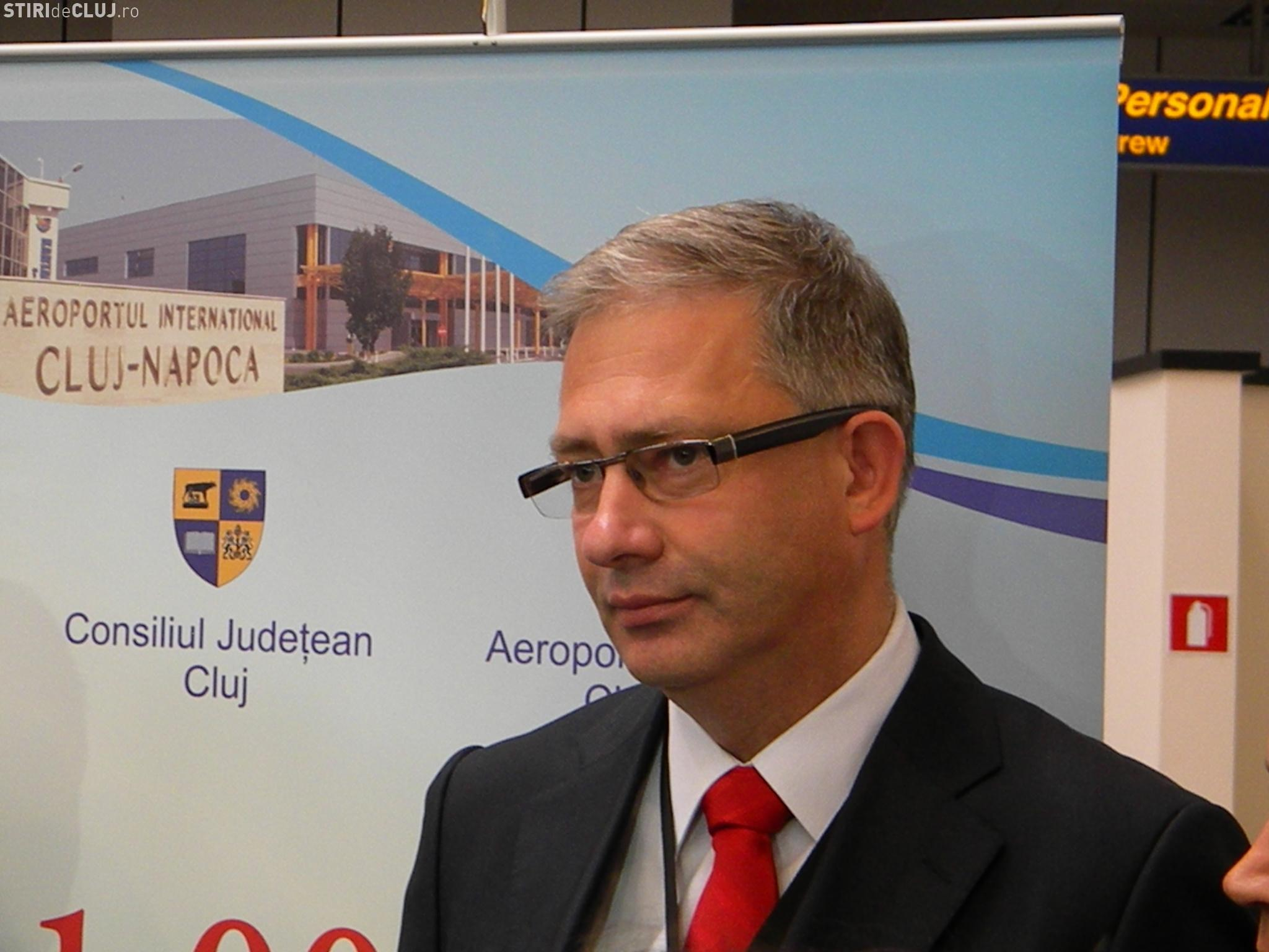 Directorul Aeroportului Cluj, David Ciceo, participă la sedința de board a Airport Council International (ACI) Europe