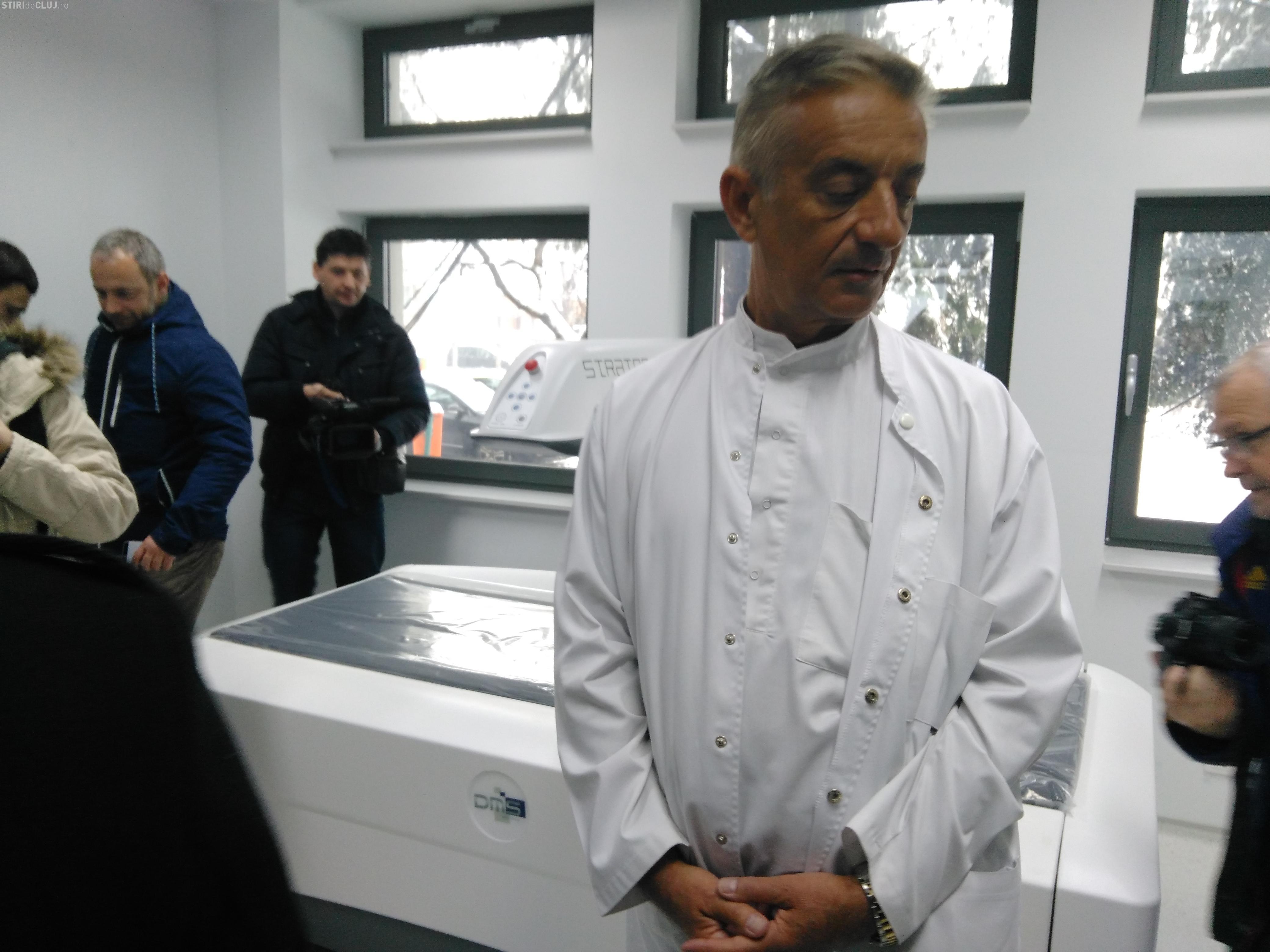 Spitalul Clujana va avea un compartiment de primire urgențe deschis non-stop. A fost dotat și cu aparatură ultra-modernă
