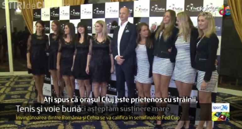 Cât de elegantă a fost Simona Halep și fetele din lot, la dineul oficial