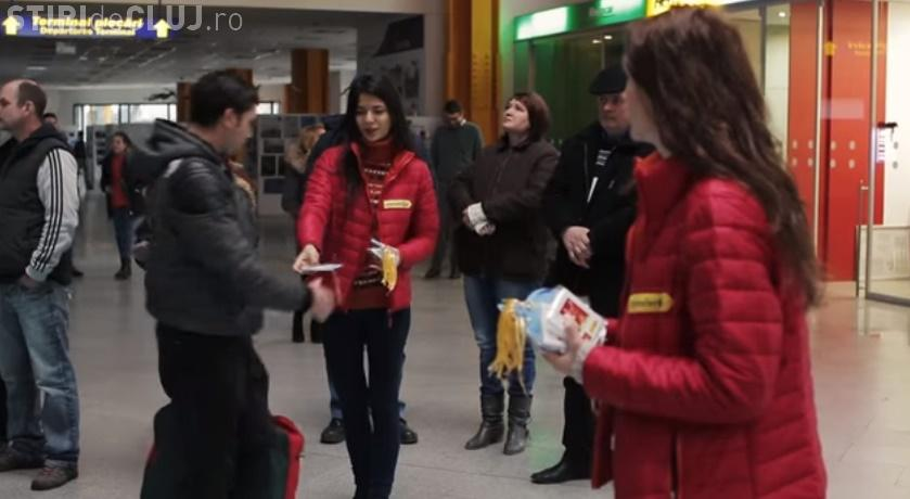 VIDEO: Clujenii primiți de Crăciunițe acasă în decembrie (P)