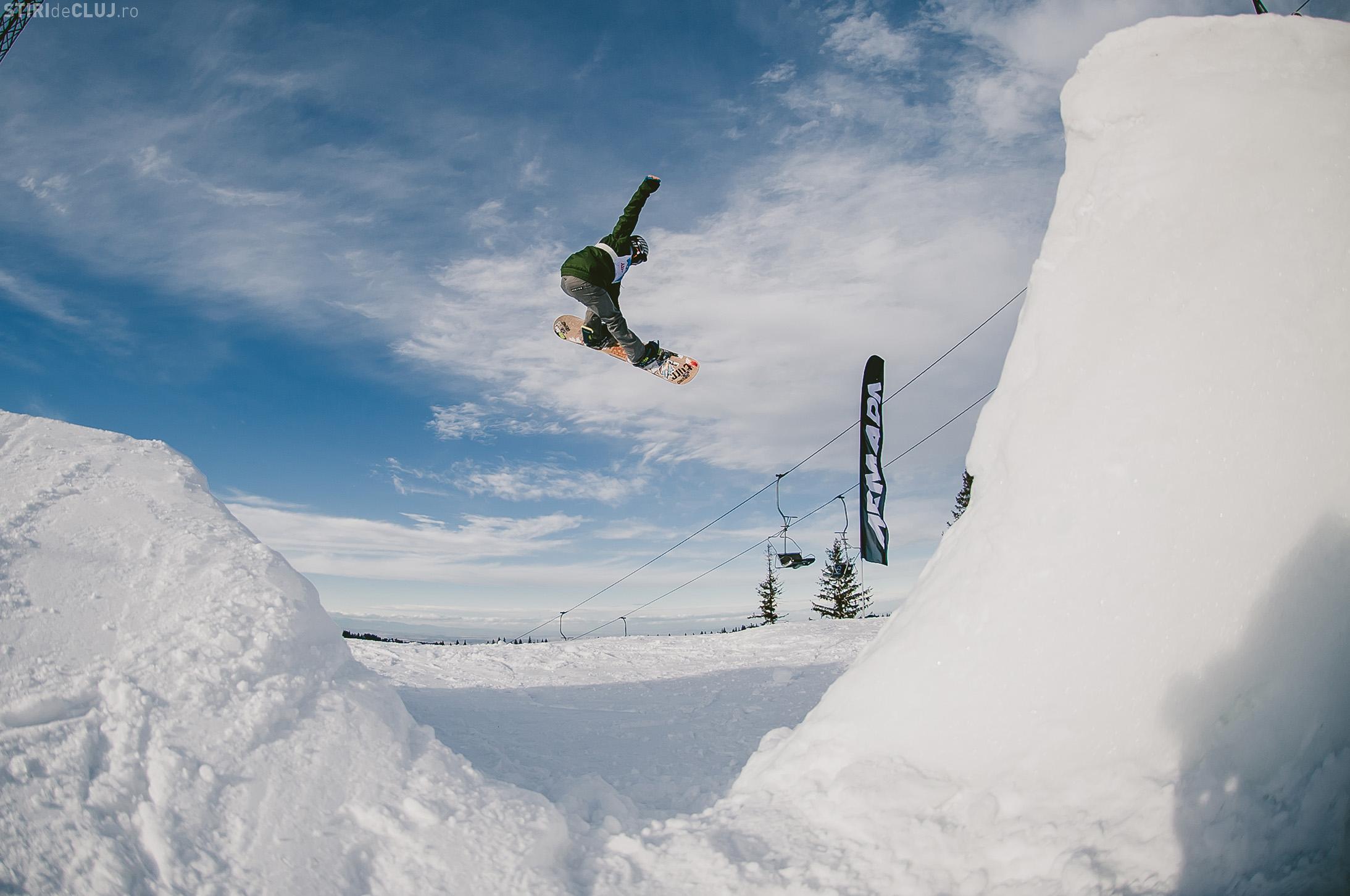 Arena Platoș - Sibiu: Concursuri spectaculoase de skicross și mountain bike în weekend - FOTO