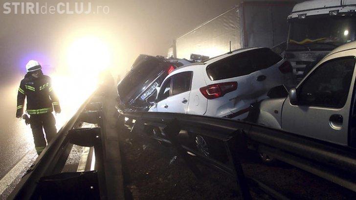 Român mort în urma unui accident groaznic din Slovenia. Peste 70 de mașini au fost implicate
