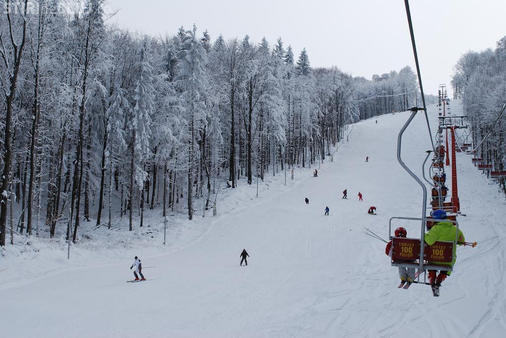 ȘUIOR - Cum arată pârtiile de la Șuior și în ce condiții de schiază - VIDEO camere de supraveghere