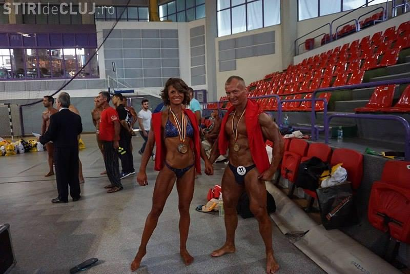 Alina Așchilean și Sebastian Văsuț concurează la Campionatele Europene de Culturism