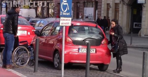 DREPT la REPLICĂ al unei persoane cu handicap, după GESTUL avocatei care a parcat SFIDĂTOR